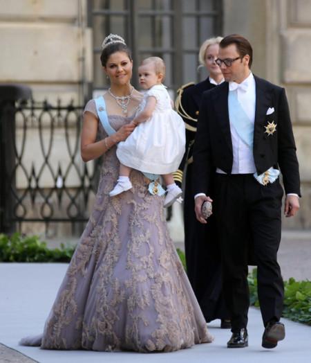 Y llegó la hermana de la novia, Victoria de Suecia