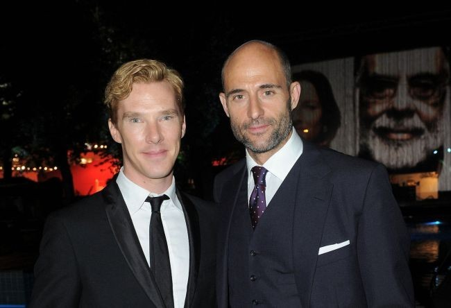 Benedict Cumberbatch y Mark Strong