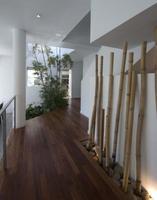 Una buena idea: una entrada de inspiración minimalista china