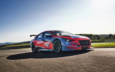 Hyundai Elantra N TCR: la variante de carreras que nos recuerda el poder de Hyundai en el mundo