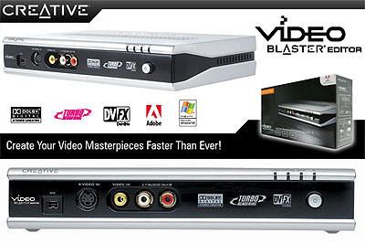 Creative Video Blaster Editor