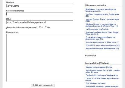 FormTextResizer, redimensiona un formulario web