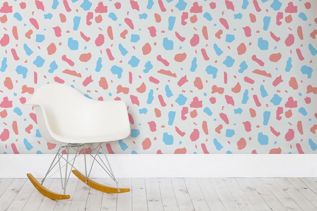 Simple Terrazzo Pastel Web