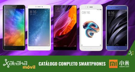 Xiaomi Mi 5X, así encaja dentro del catálogo completo de smartphones Xiaomi en 2017
