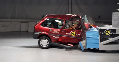 Rover 100 Crash