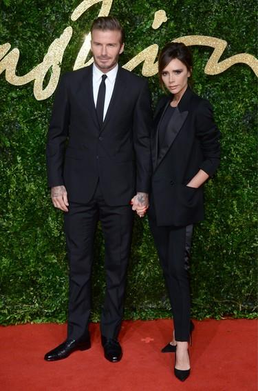 Famosos y moda en los British Fashion Awards