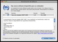 Nueva actualización de seguridad 2007-009
