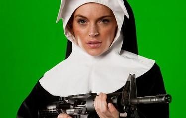 """Lo que hay que ver: Lindsay Lohan también es una """"indignada"""""""