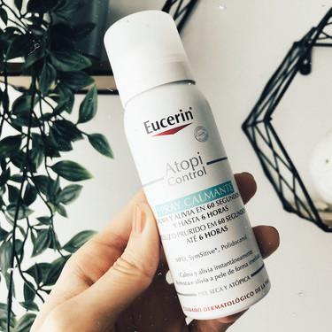Este spray calmante, esta crema hidratante y este gel de ducha de Eucerin son mi truco para combatir la irritación y el picor de la piel estos días