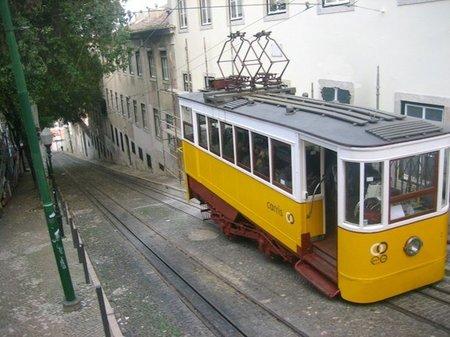 Elevador en Lisboa