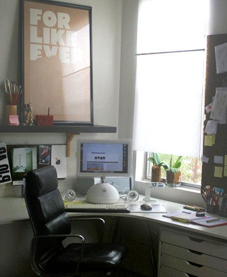 Zonas de trabajo (I): en esquina