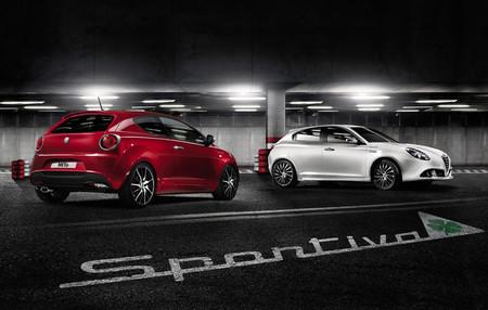 La cara más Sportiva de Alfa Romeo, en el Giulietta y el MiTo