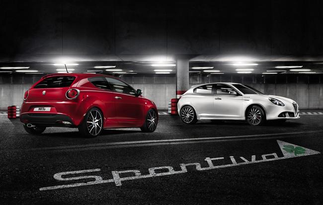 Alfa Romeo Giulietta y MiTo, en edición Sportiva