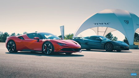 Locura en vídeo: el nuevo Rimac Nevera humilla al Ferrari SF90 Stradale de 1.000 CV en esta carrera de aceleración
