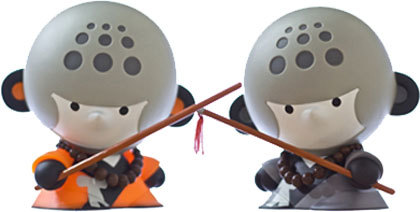 Toys de monje shaolin