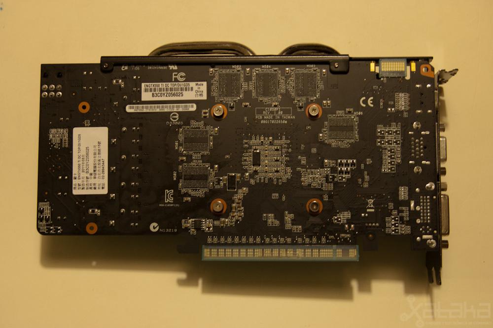 Foto de NVidia GTX 550 Ti, análisis (7/7)