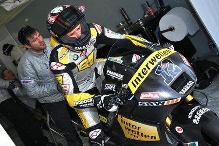 Primer día de test en Jerez con Thomas Luthi mandando en Moto2 y Danny Kent en Moto3