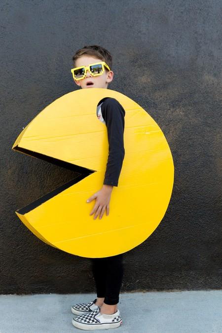 Disfraces Facil Barato Ninos Pacman