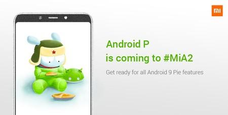 Xiaomi Mi A2 recibe Android 9.0 Pie oficialmente en México, es el primer smartphone Xiaomi en recibir la actualización