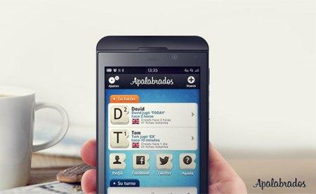 Apalabrados llega a Blackberry 10