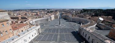 Italia vaciada: las imágenes que reflejan el aislamiento de un país