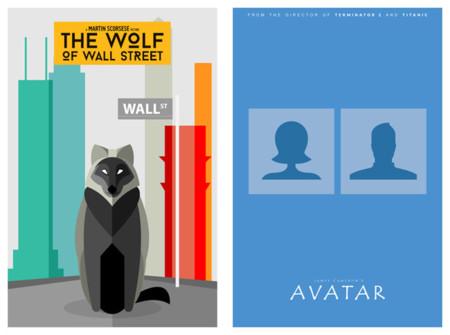 Si los pósters de cine fueran literales