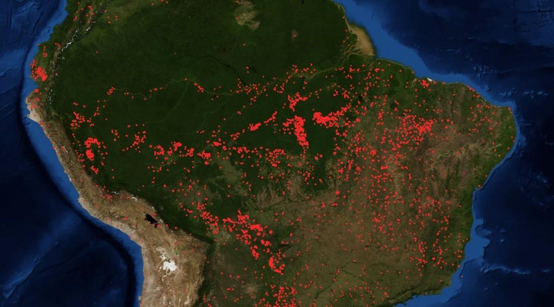 72.843 incendios en Amazonas durante 2019: Brasil está atravesando la mayor ola de incendios y deforestación de los últimos años