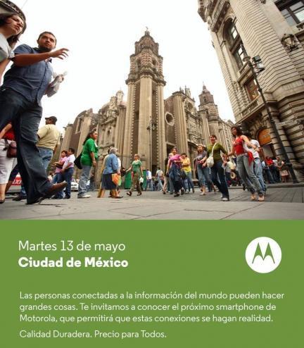 Motorola Evento Moto E Mexico