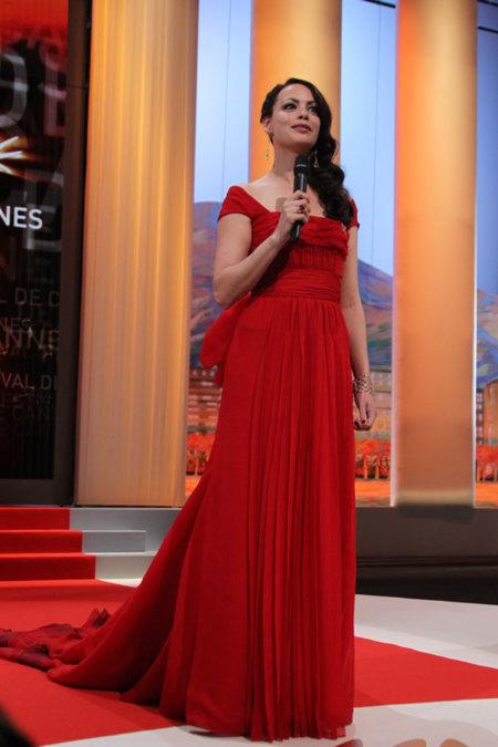 Bérénice Béjo en el Festival de Cannes 2012