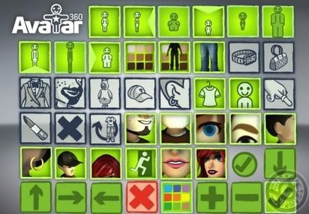 Rumor: primeras capturas del editor de avatares de la XBox 360