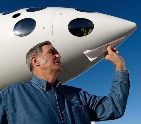 Burt Rutan: el hombre que quiere abrir la frontera espacial