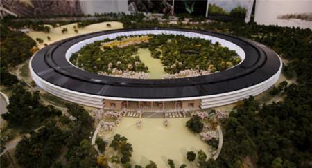 """Todo preparado para que comience la construcción del futuro """"campus espacial"""" de Cupertino"""