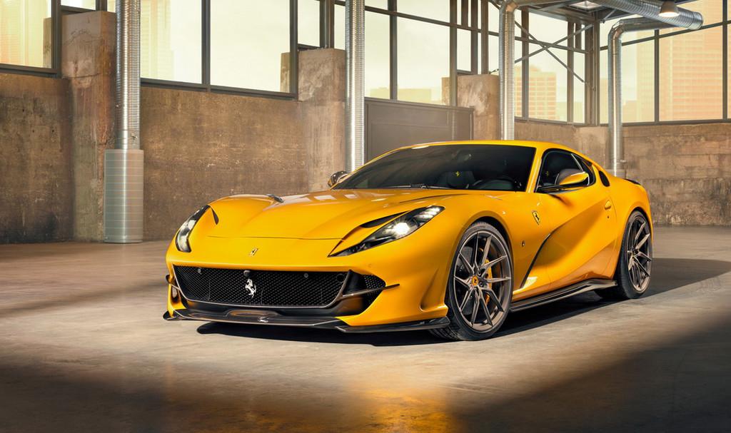Novitec viste de carbono el Ferrari 812 Superfast... y las mejoras para el 6.5 litros V12 están en camino