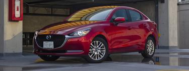 Mazda 2 Sedán 2021, a prueba: mismo refinamiento y calidad, pero con más equipo de serie