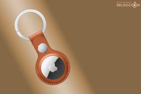 Coloca un AirTag en tus llaves y no vuelvas a perderlas con el llavero de piel oficial por 27,30 euros en Amazon, su mínimo