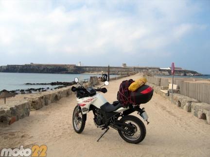 Las vacaciones de Moto 22, Cádiz-Tarifa-Granada