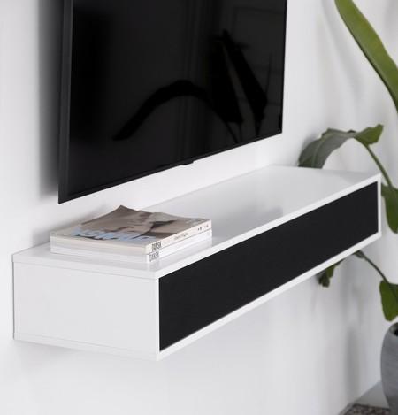 Lemus presenta Home Piano, una barra de sonido-estantería que promete tener el mayor subwoofer integrado del mercado
