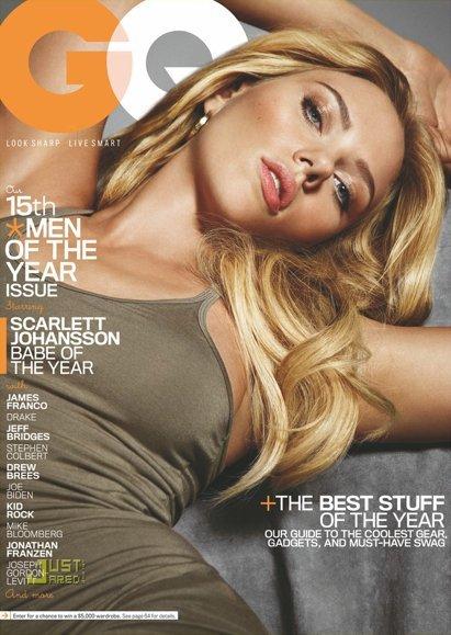 Scarlett Johansson en la portada de GQ