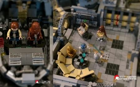 Big Lego Falcon 0