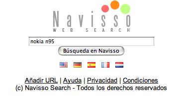 Navisso, un nuevo buscador