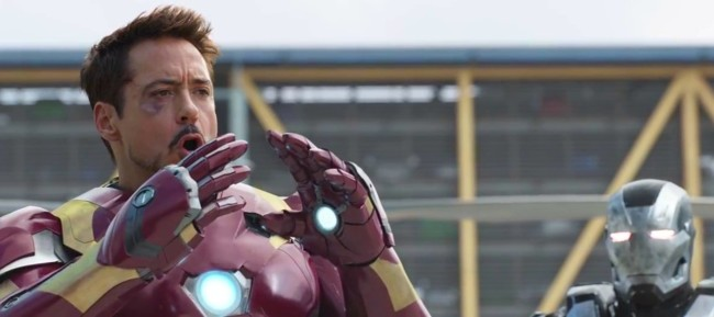 Robert Downey Jr. en Capitán America: Civil War