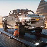 Chevrolet Cheyenne High Country 2019 llega a la pantalla grande de la mano de LEGO