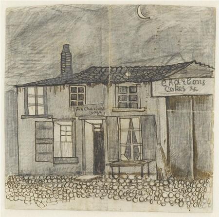 Au Charbonnage café, Van Gogh en una carta para Theo, 1878