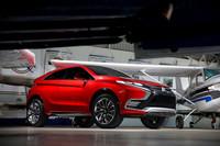 Mitsubishi XR-PHEV II Concept, camino de Ginebra