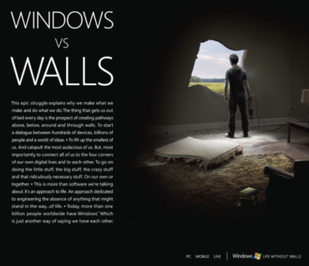 Windows Not Walls