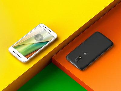 El Motorola Moto E4 da señales de vida con el doble de memoria del Moto E3 y Nougat