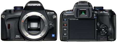 Olympus presenta la nueva E-420