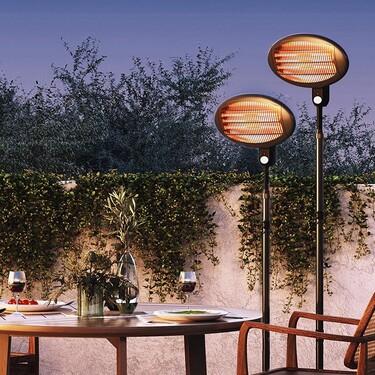Exprime tu terraza también en otoño: estufas y chimeneas para aprovechar tus zonas de exterior aunque llegue el frío