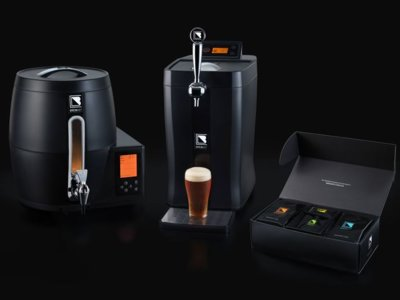BrewArt quiere ser el Nespresso de la cerveza: cápsulas y diseño atractivo para elaborar en casa