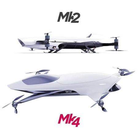 Airspeeder Mk2 And Mk4 Australia